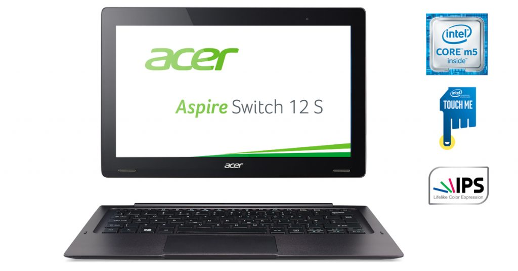 Test: Acer Aspire Switch 12 S mit 12 Zoll großem Full-HD-Display + Office 365 gratis