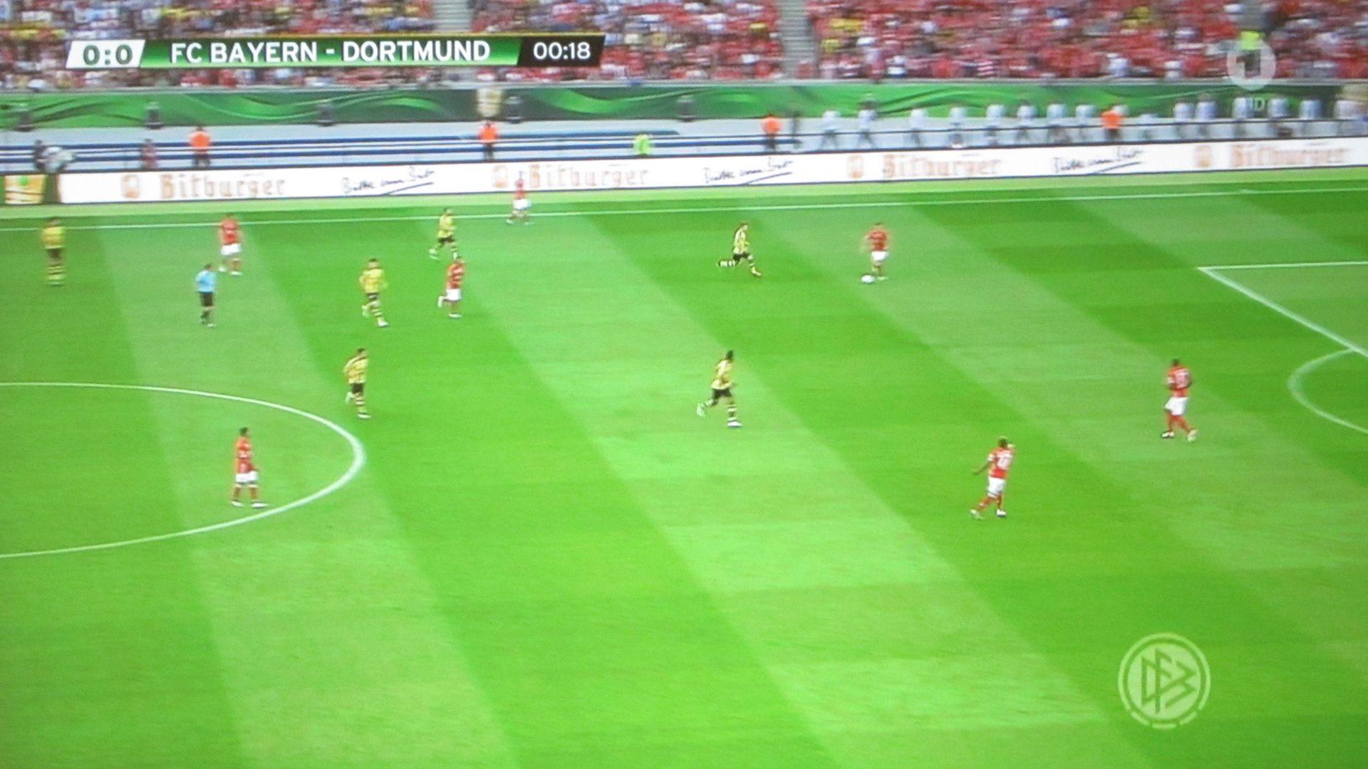 BenQ- W1110S – DFB Finale in der 18 Minute (~20:35h)