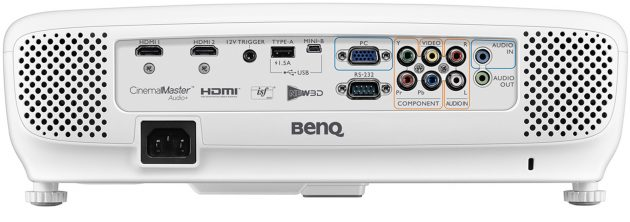 BenQ-W1110s---Anschluesse