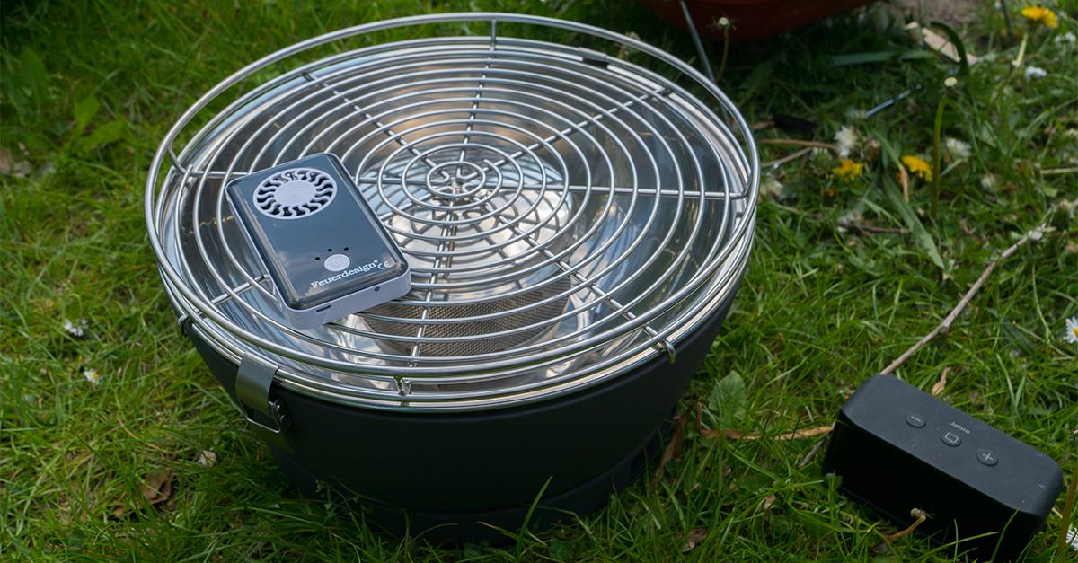 Rauchfreier Holzkohlegrill Opinie : Fire eaters bbq lotusgrill ein rauchfreier grill für balkon