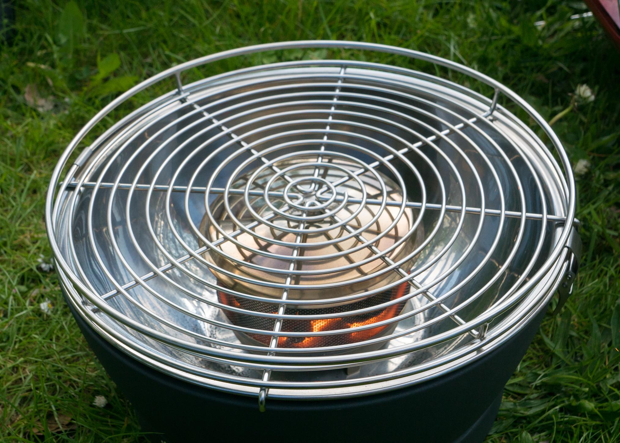 grill mit l fter swalif. Black Bedroom Furniture Sets. Home Design Ideas