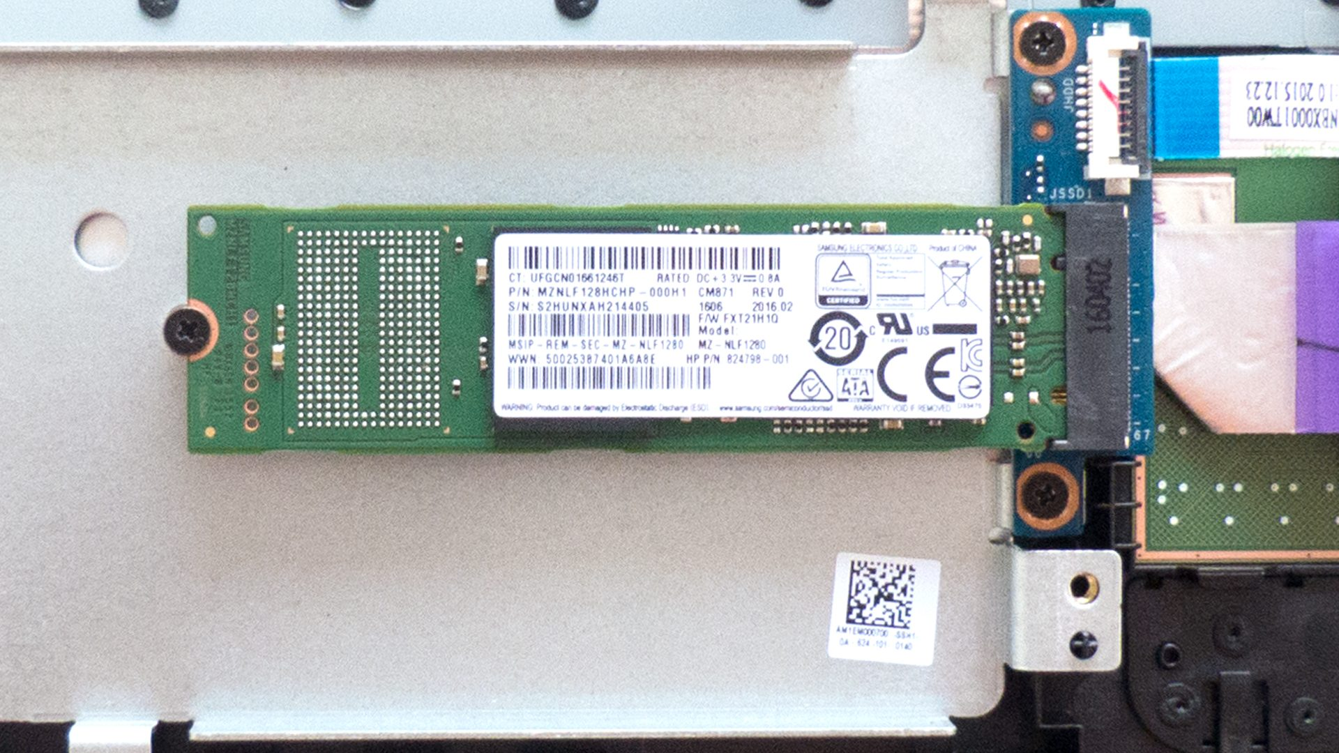 HP 15-ac-158ng – SSD M.2 Modul