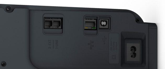 HP-Officejet-Pro-8620--Anschluesse
