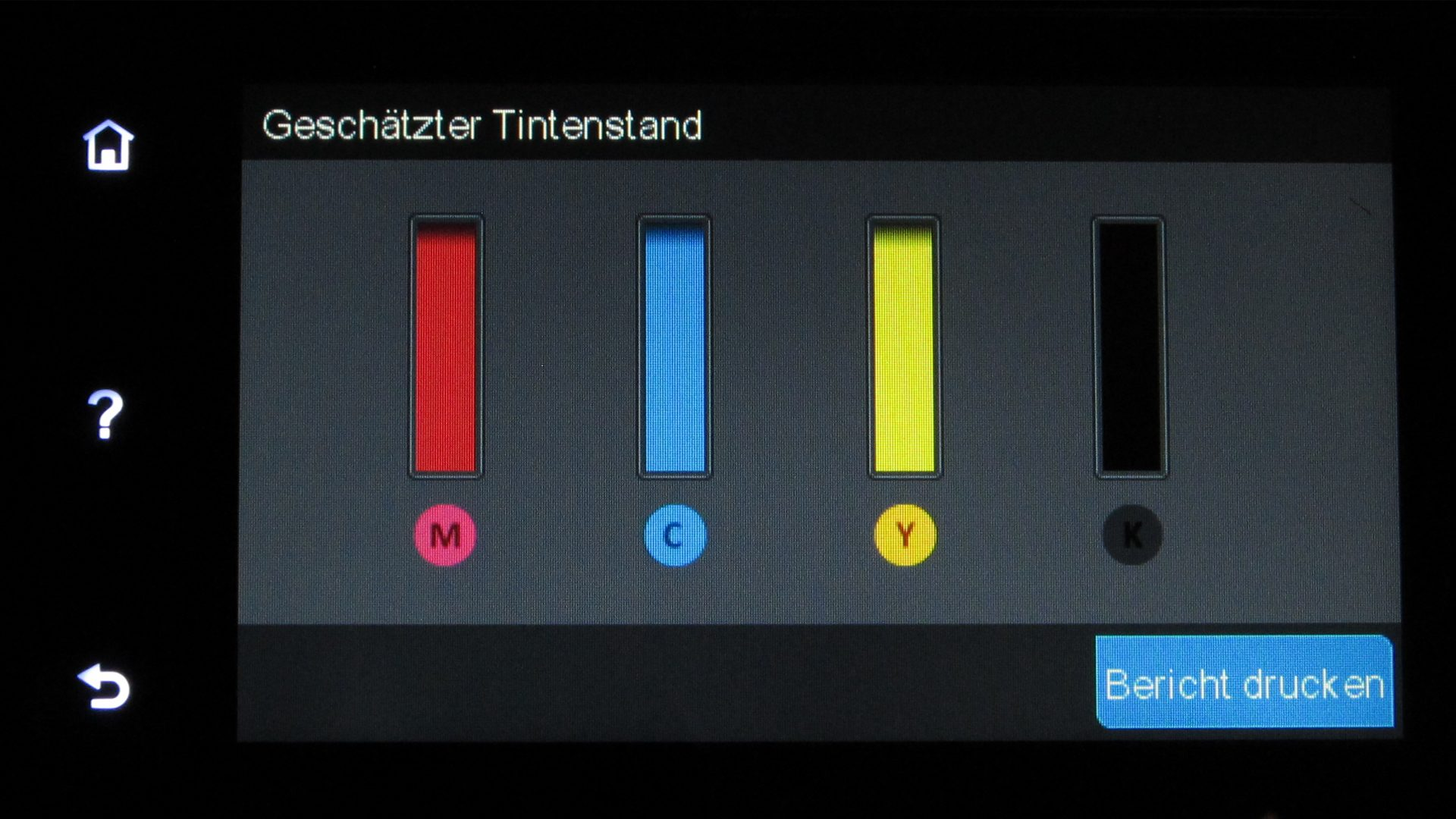 HP-Officejet-Pro-8620–Display-Tintenstand
