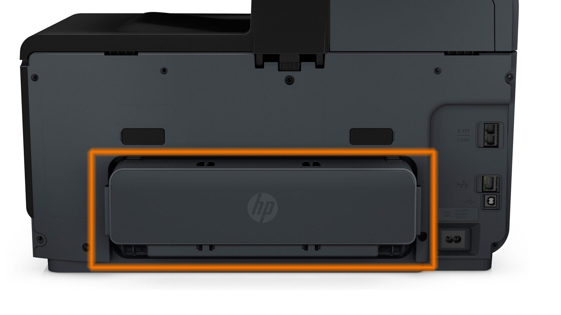 HP Officejet Pro 8620 – Duplexeinheit am Drucker