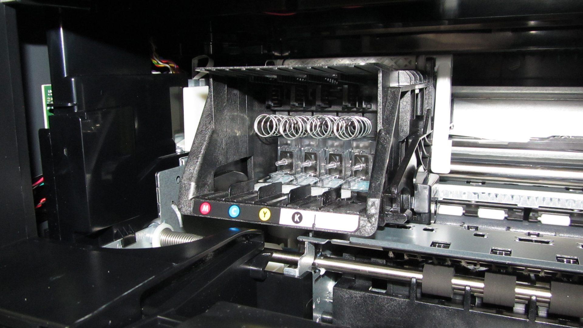 HP-Officejet-Pro-8620—Patronenfach