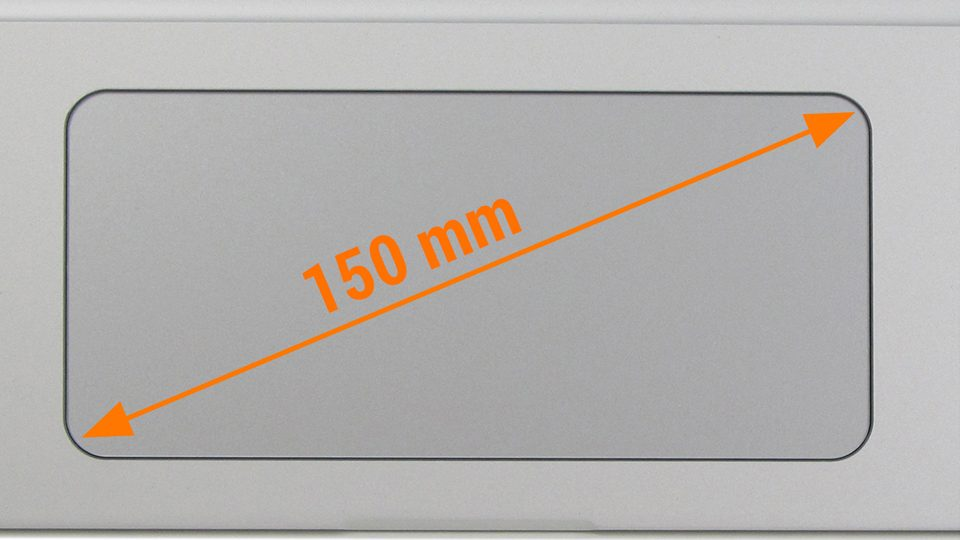 HP Spectre x360 15-ap006ng – Großes Touchpad