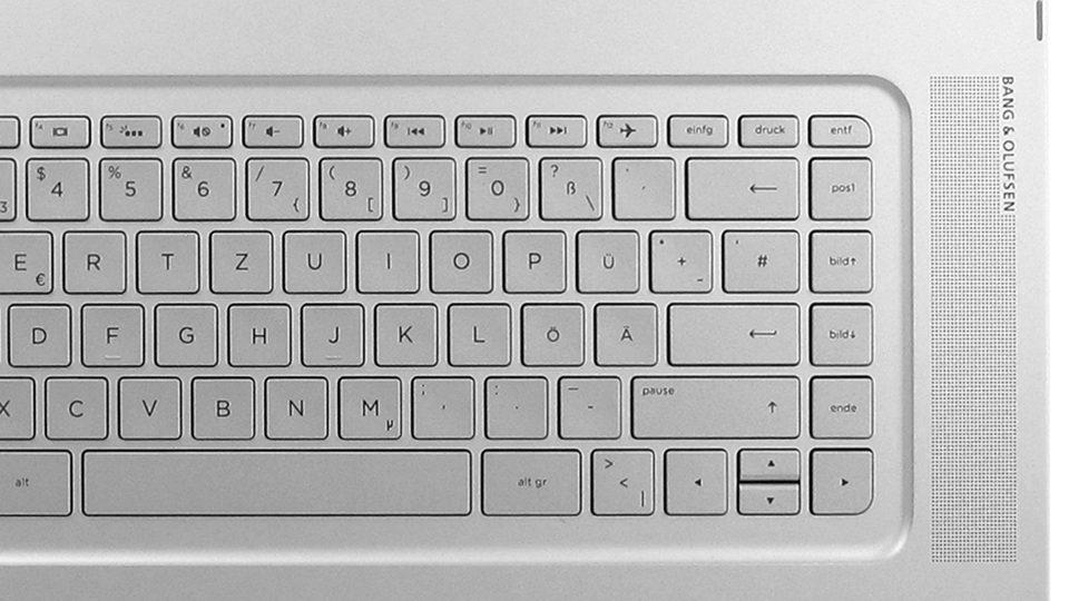 HP Spectre x360 15-ap006ng – große Tasten