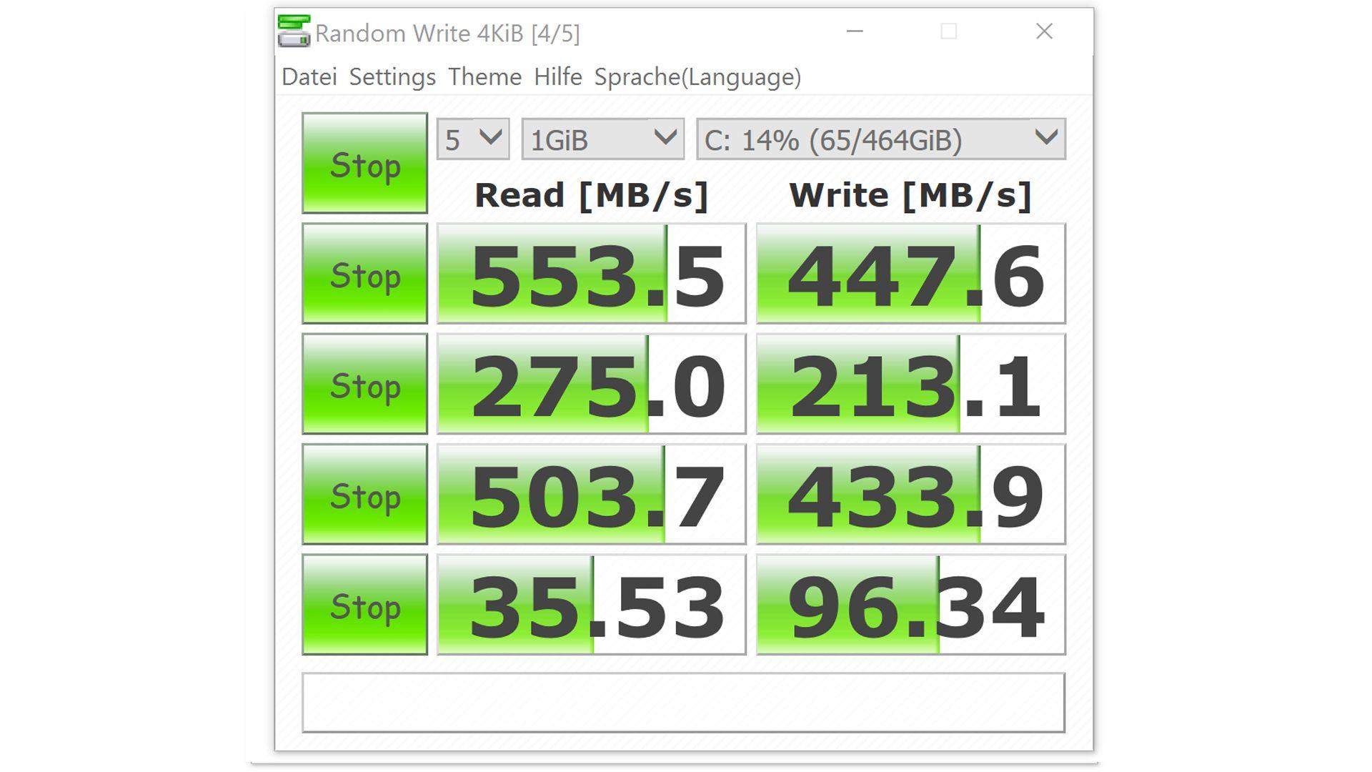 HP Spectre x360 15-ap006ng Crystal-Disk-Mark