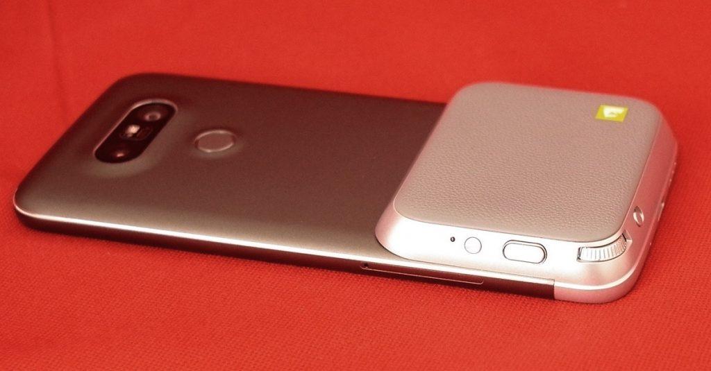 Test Kameramodul CAM Plus für das LG G5