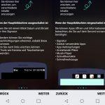 Die Möglichkeiten des zweiten Displays im LG X screen.