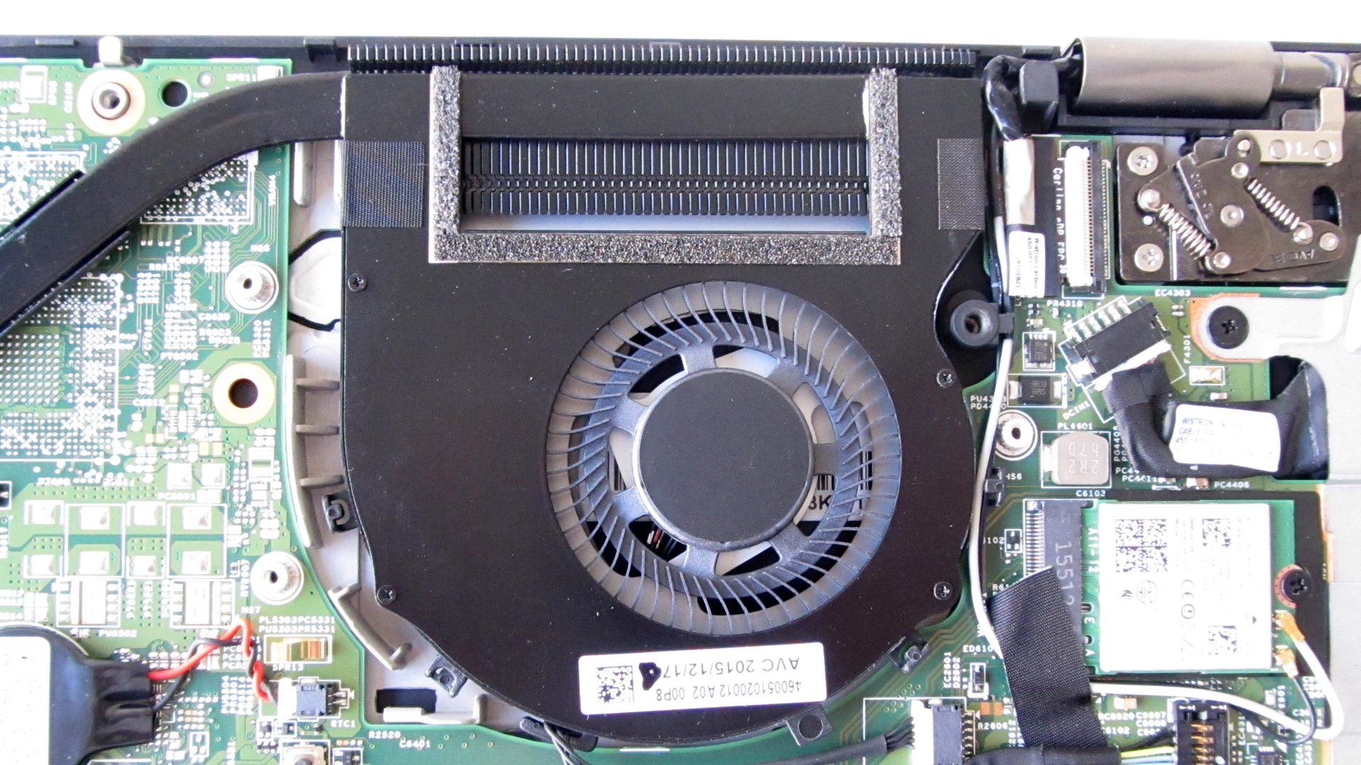 Lenovo Thinkpad Yoga 460 – Belüftungssystem