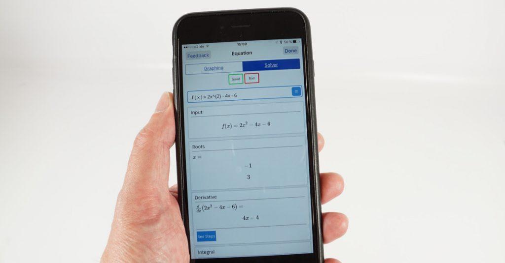 App-Quicktipp iOS: Mathpix löst mathematische Gleichungen