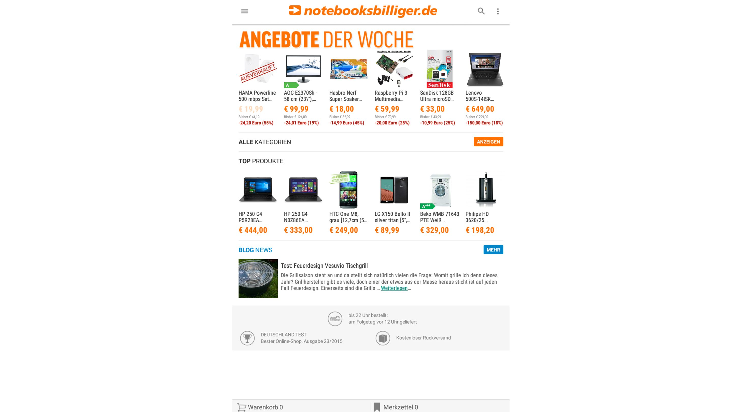 Point-of-View-TAB-I847—Anwendungen—Schoppen