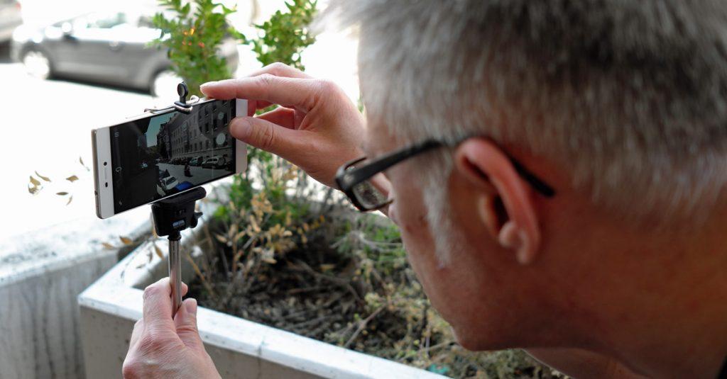 Alles außer Selfies: Bessere Smartphone-Fotos mit dem Selfie-Stick