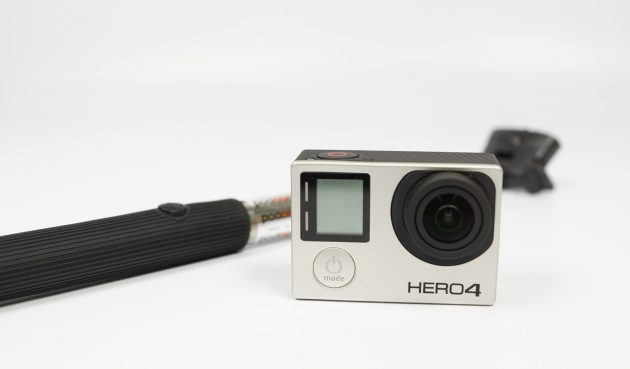 Test Koenig KN-CMP30 Selfie-Stick mit GoPro Hero 4