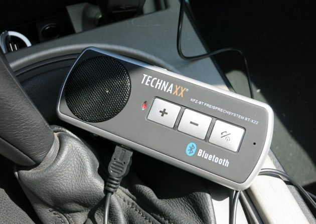 Test Technaxx Bluetooth KFZ-Freisprecheinrichtung BT-X22 im Auto