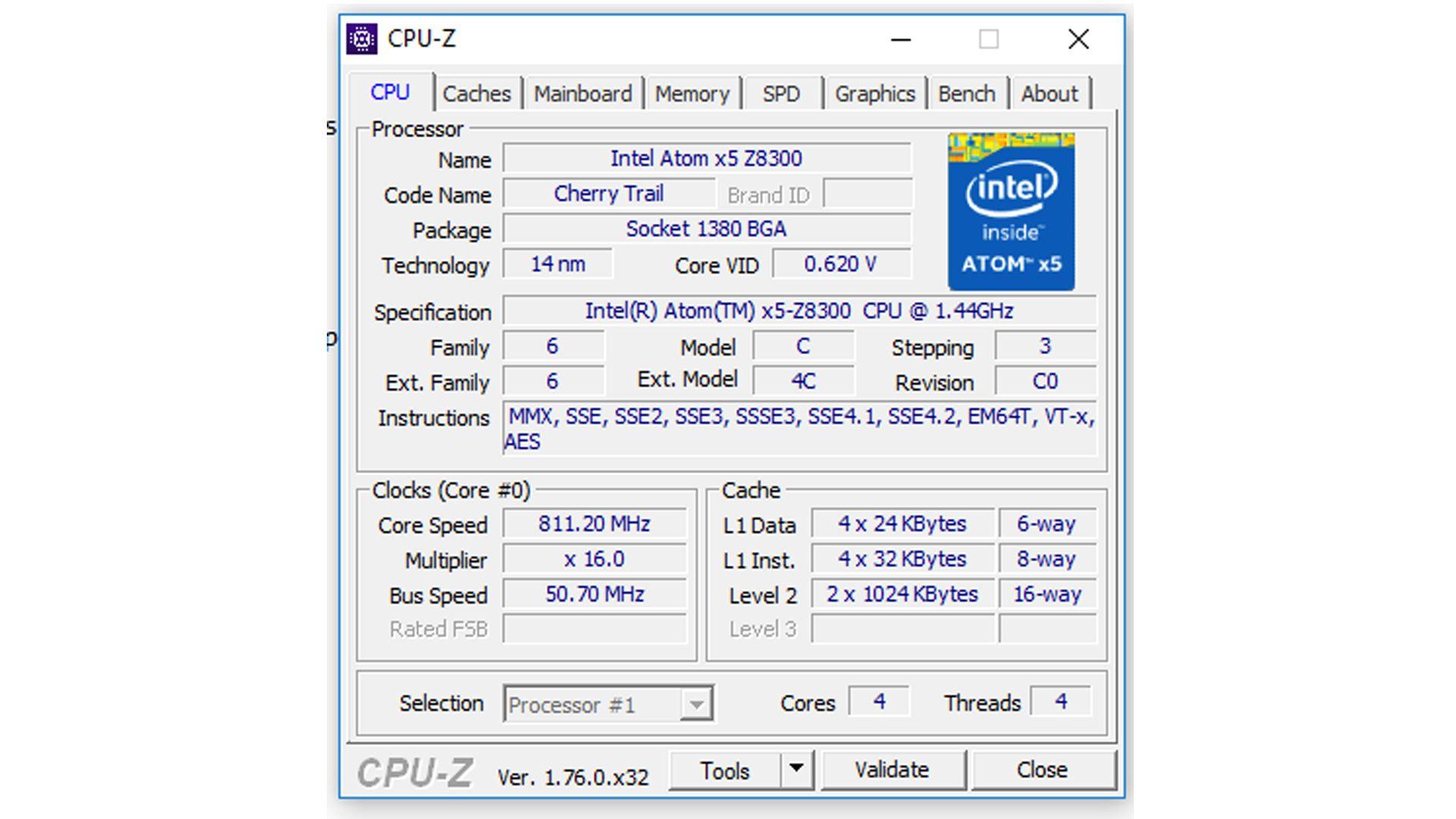 Verico-Unipad-10—Angaben-zum-Prozessor
