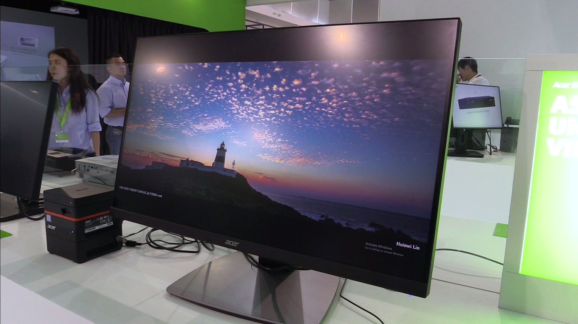 computex 2016 acer bm320 randloser 4k uhd monitor. Black Bedroom Furniture Sets. Home Design Ideas