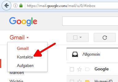 Android Kontakt wiederherstellen Schritt 04