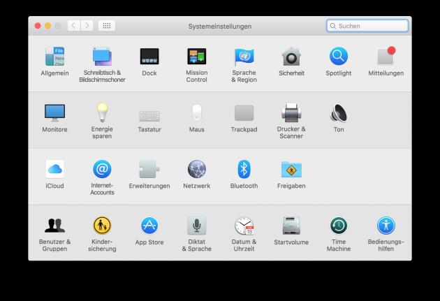 Emojis auf dem Mac 01 Tastatureinstellungen aufrufen