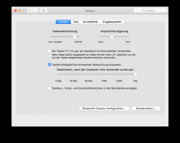 Emojis auf dem Mac 03 Emojis in Menue einblenden