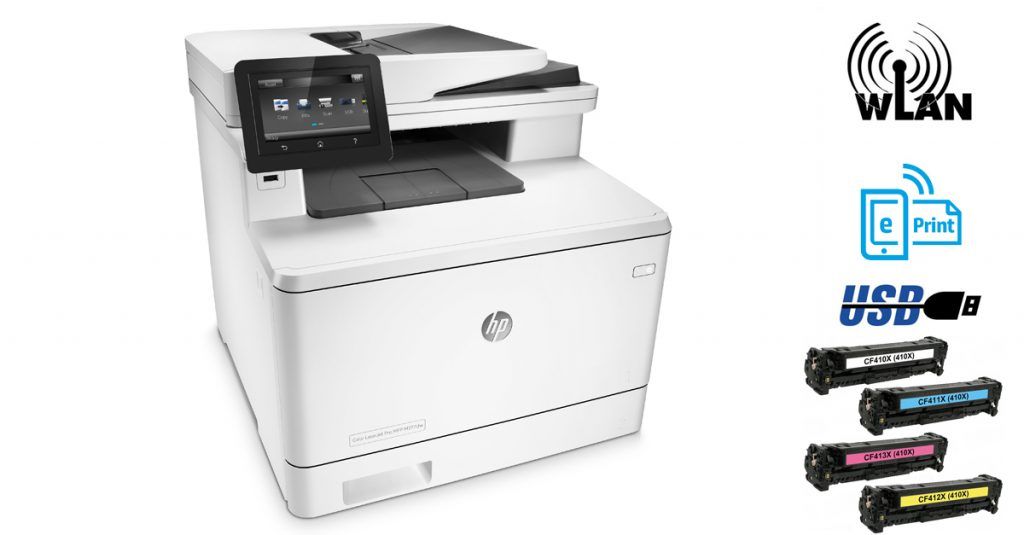 Test: HP Color Laser Jet Pro M477fdw – 4-in1-Farblaser mit Duplex-Scanner und Touchdisplay