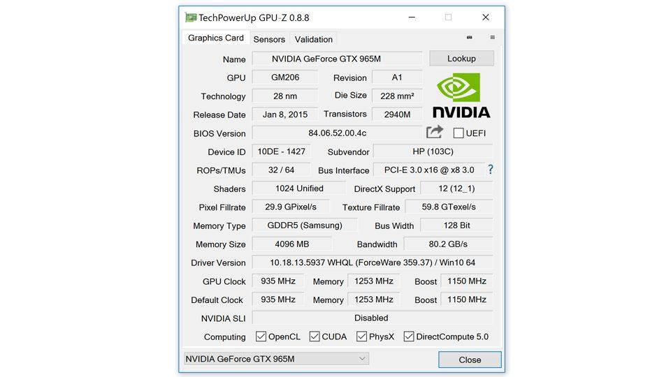 HP-OMEN-15-ax008ng – GPU-z-Nvidia