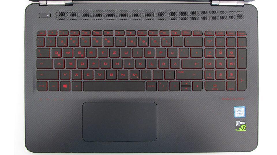 HP-OMEN-Tastatur