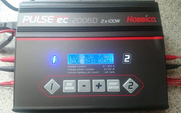 Hobbico-PulseTec-2006---Ladegerät