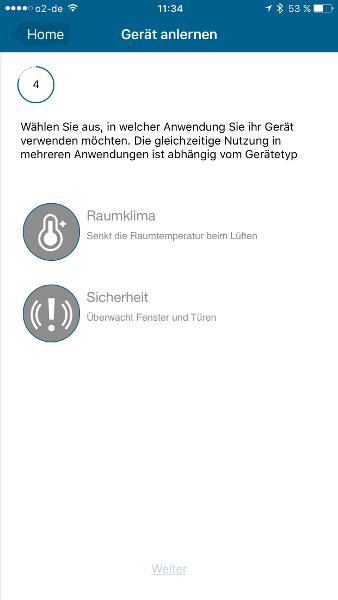 Homematic IP Starter-Set Sicherheit plus Zuordnung Geraet