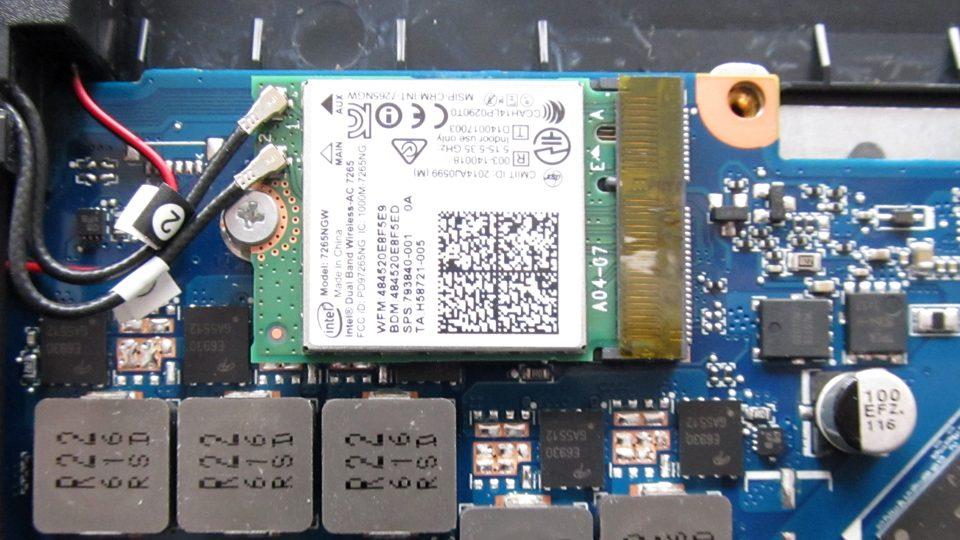 Verbautes W-LAN-Modul im HP 17-w010ng