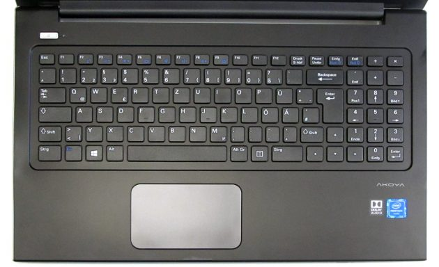 Medion-AKOYA_S6219_Tastatur
