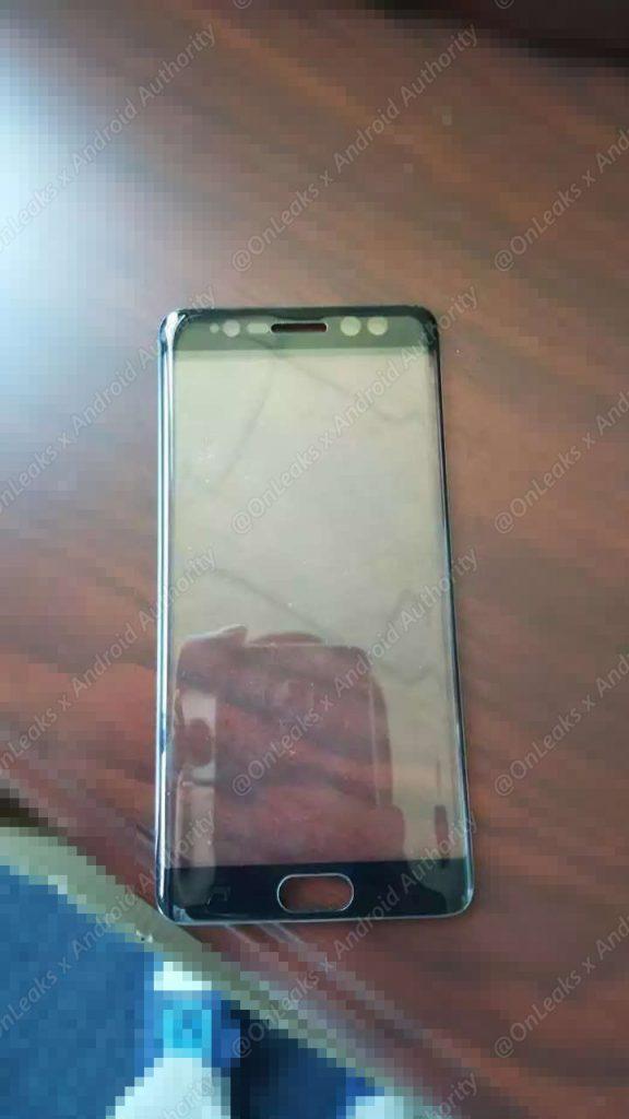 Frontglas des Samsung Galaxy Note 7 bestätigt Iris-Scanner
