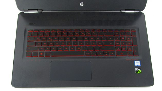 OMEN by HP - 17-w0010ng - Tastatur