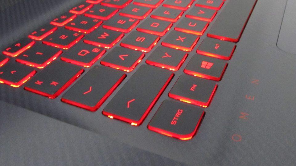 OMEN by HP – 17-w0010ng – Tastatur-mit-Beleuchtung