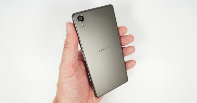 Test Sony Xperia X