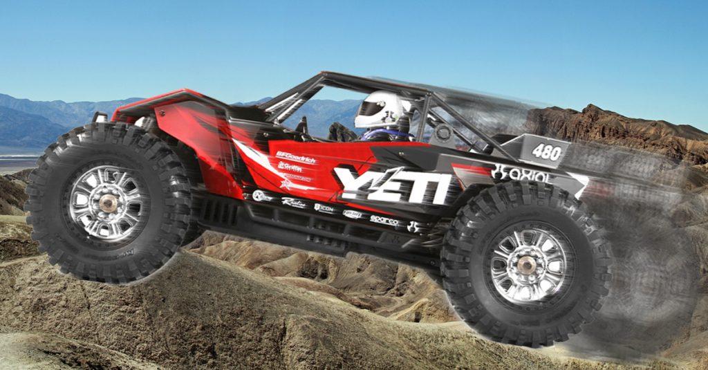 Unbändige Power: Yeti XL Monster Buggy fährt bis zu 80 km/h schnell