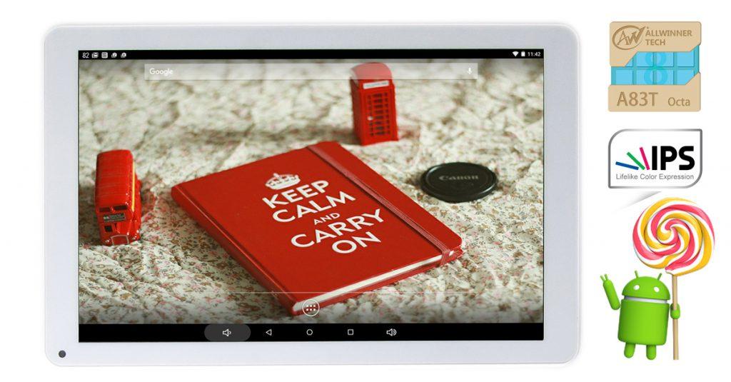 Kurztest: MP Man Android Tablet MP100i mit 10,1″-IPS-Display für 88 €