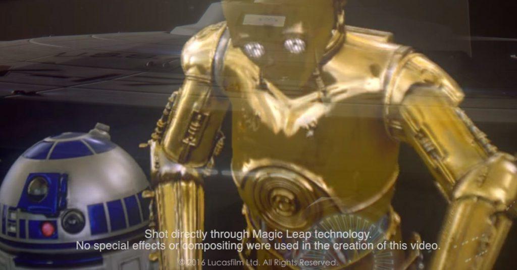 Hololens-Konkurrent entwickelt C-3PO und R2-D2 für alle