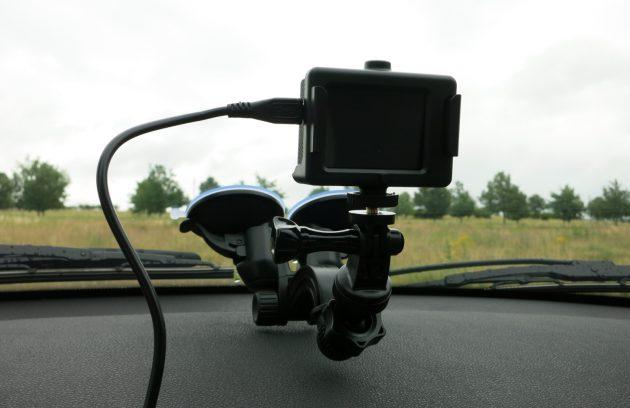 Actioncam Tipps Autohalter mit Stromversorgung