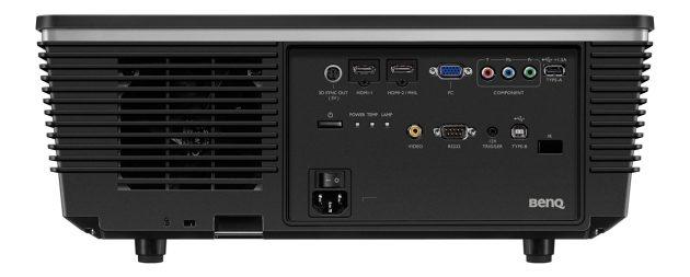 BenQ-W8000-Anschlüsse