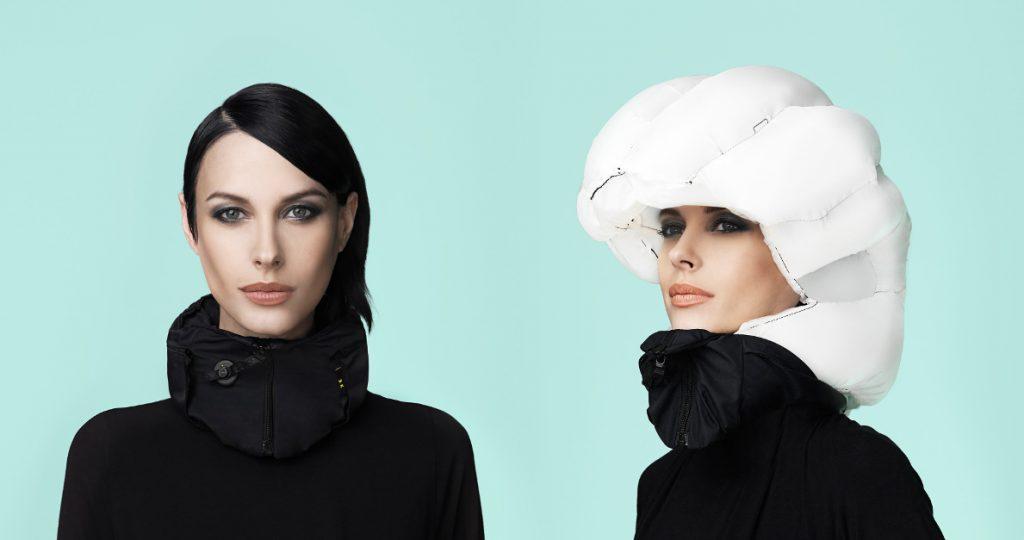 Hövding Kopf-Airbag: Aufblasbarer Helm für Radfahrer