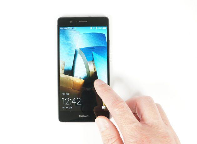 Huawei P9 Lite Bedienung