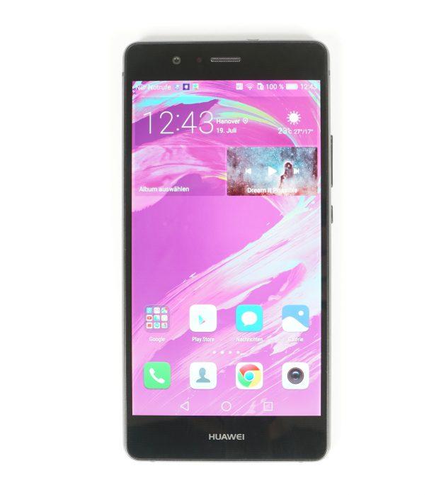 Huawei P9 Lite Hochkant Display ein