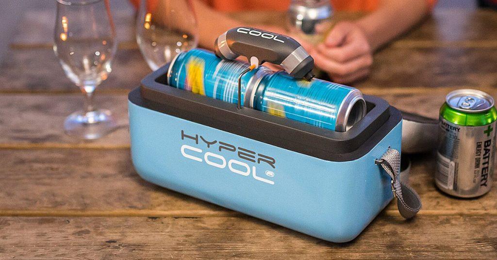 HyperCool: Eiskalte Getränkedosen in Sekunden