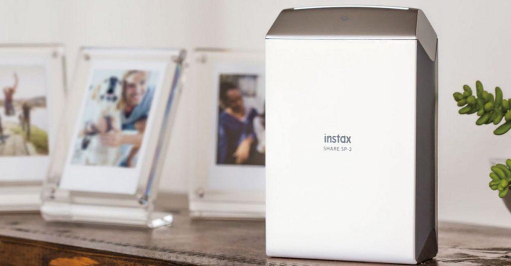 Fujifilm: Mobiler Fotodrucker Instax SP-2 kommt im Juli