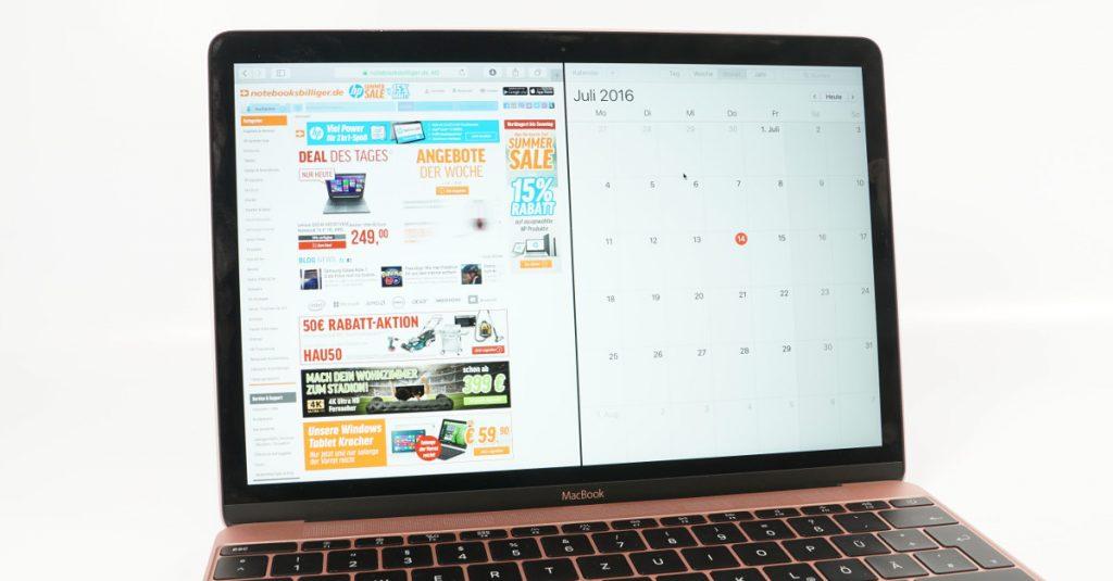 OS X: App-Fenster nebeneinander anordnen