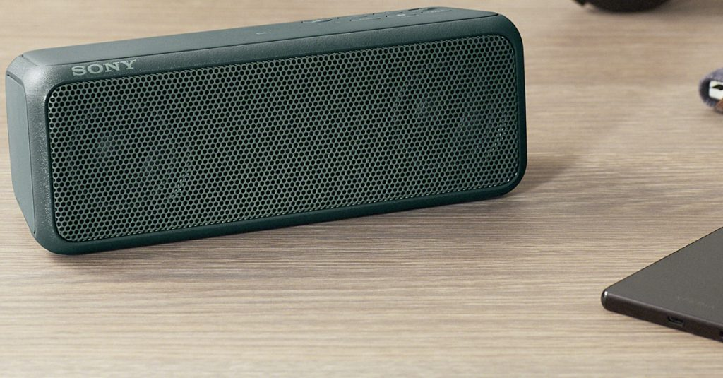 Test Sony SRS-XB3: Wasserdichter Bluetooth-Speaker mit Wumms