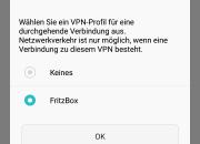 VPN Auswählen